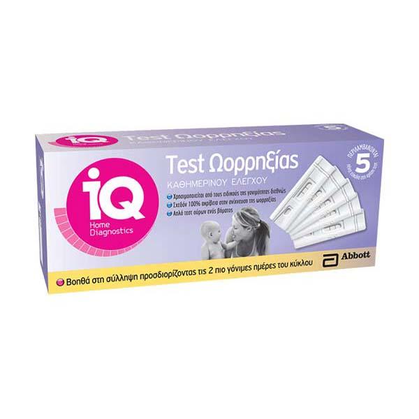 IQ HOME Τεστ Ωορρηξίας Abbott
