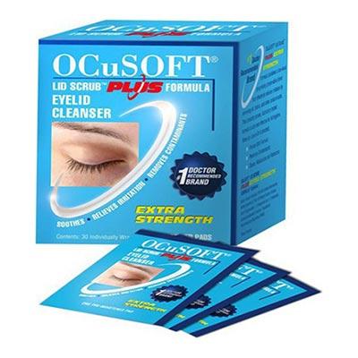 Ocusoft Eyelid Cleanser Pads 30τμχ