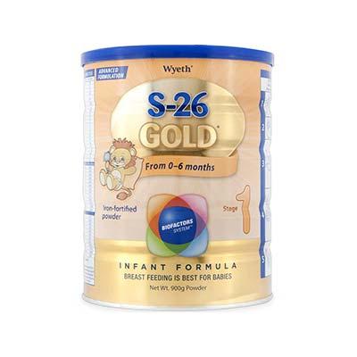 S-26 Ι Gold Βρεφικό Γάλα από τη Γέννηση μέχρι τον 6ο μήνα, 400gr