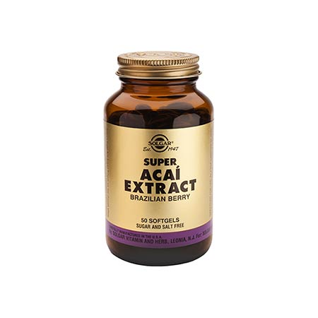 SOLGAR SUPER ACAI EXTRACT softgels 50s