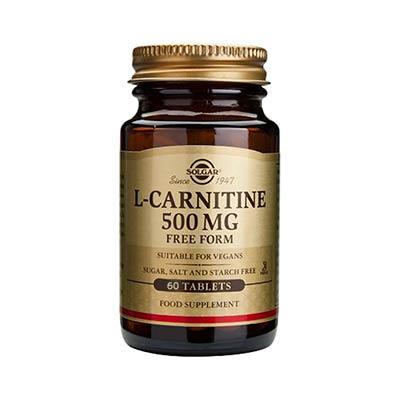 Solgar L-Carnitine 500mg 60tabs