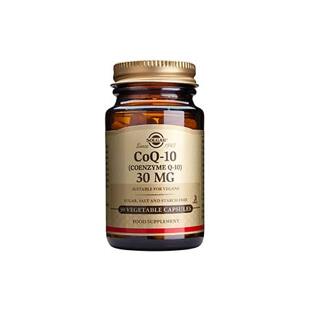 Solgar Vegetarian CoQ-10 30mg 30 φυτικές κάψουλες