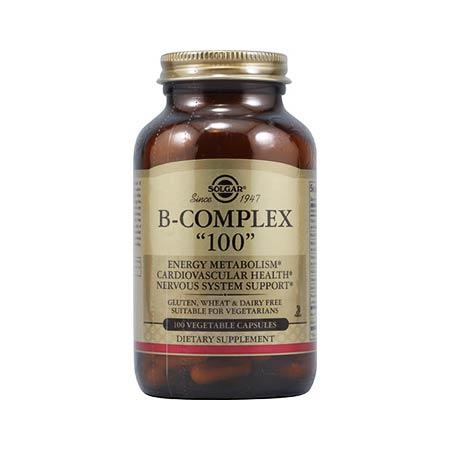 Solgar Vitamin B-100 Complex 100veg. caps
