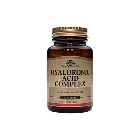Solgar Hyaluronic Acid Complex 120mg 30 ταμπλέτες