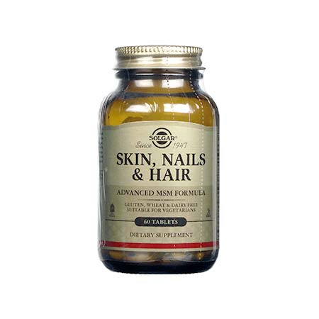 SOLGAR SKIN NAILS AND HAIR FORMULA tabs 60s