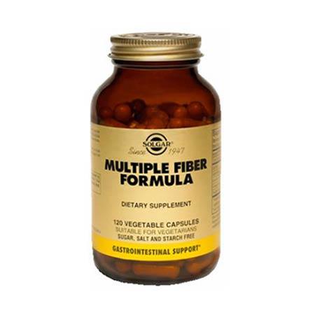 SOLGAR MULTIPLE FIBRE FORMULA veg.caps 120s