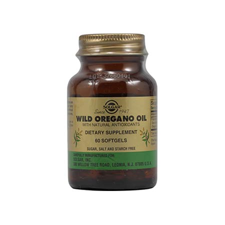 SOLGAR WILD OREGANO OIL softgels 60s