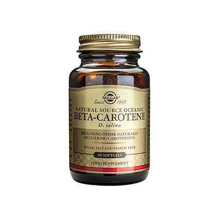 SOLGAR BETA-CAROTENE 7mg softgels 60s