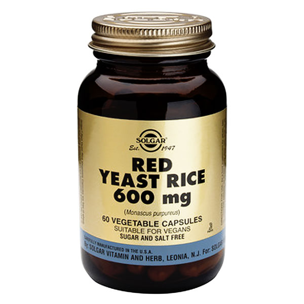 Solgar Red Yeast Rice Extract 600mg 60caps