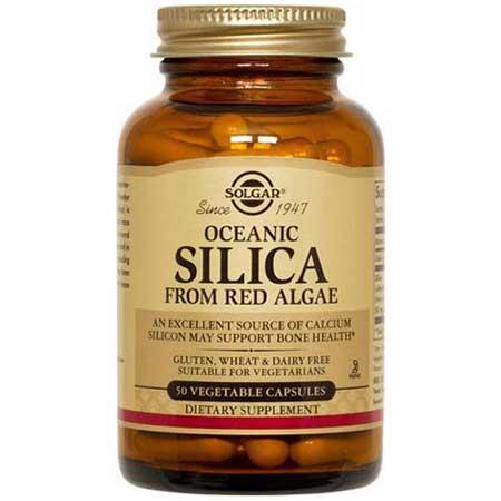 Solgar oceanic silica 25mg veg.caps 50s