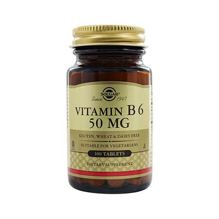 Solgar Vitamin B6 50mg 100 tabs