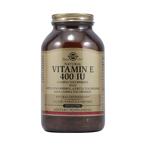 SOLGAR VITAMIN E 400IU  250 softgels