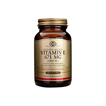 SOLGAR VITAMIN E 1000 IU 50softgels