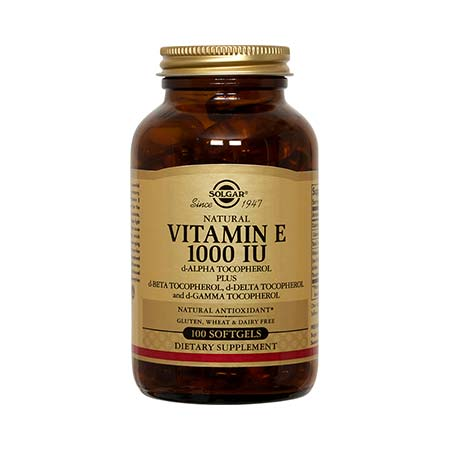 SOLGAR VITAMIN E 1000iu 100 softgels