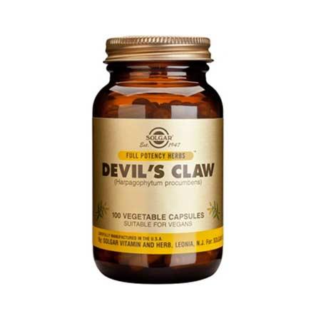 SOLGAR DEVILS CLAW veg.caps 100s