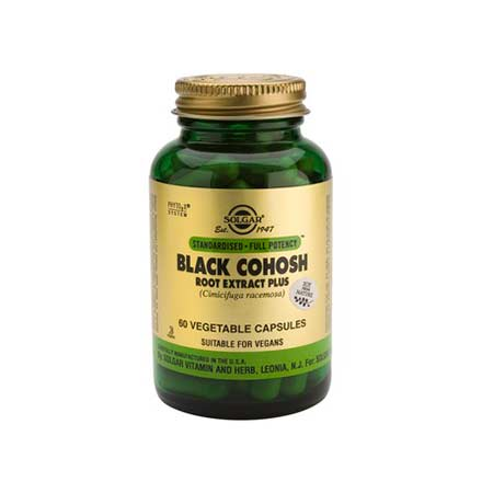 SOLGAR SFP BLACK COHOSH 60 veg.caps
