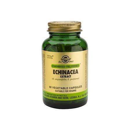 Solgar Sfp Echinacea Extract 60 φυτικές κάψουλες