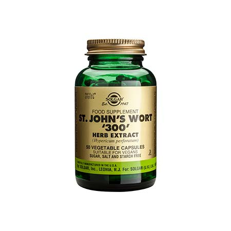 SOLGAR ST.JOHNS WORT 300mg veg.caps 50s