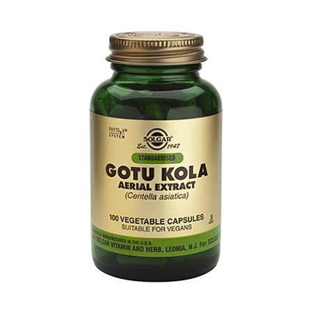 SOLGAR GOTU KOLA AERIAL EXTRACT 100 veg.caps