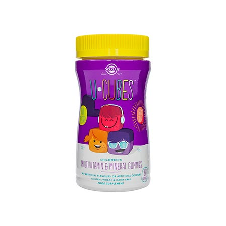 SOLGAR U Cubes Childrens MultiVitamin & Mineral 60 gummies
