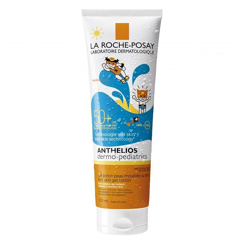 La Roche Posay Anthelios Dermo Pediatrics WET SKIN Gel Lotion SPF50+, 250ml