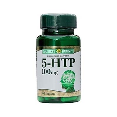 Natures Bounty 5-HTP 100mg 60 κάψουλες