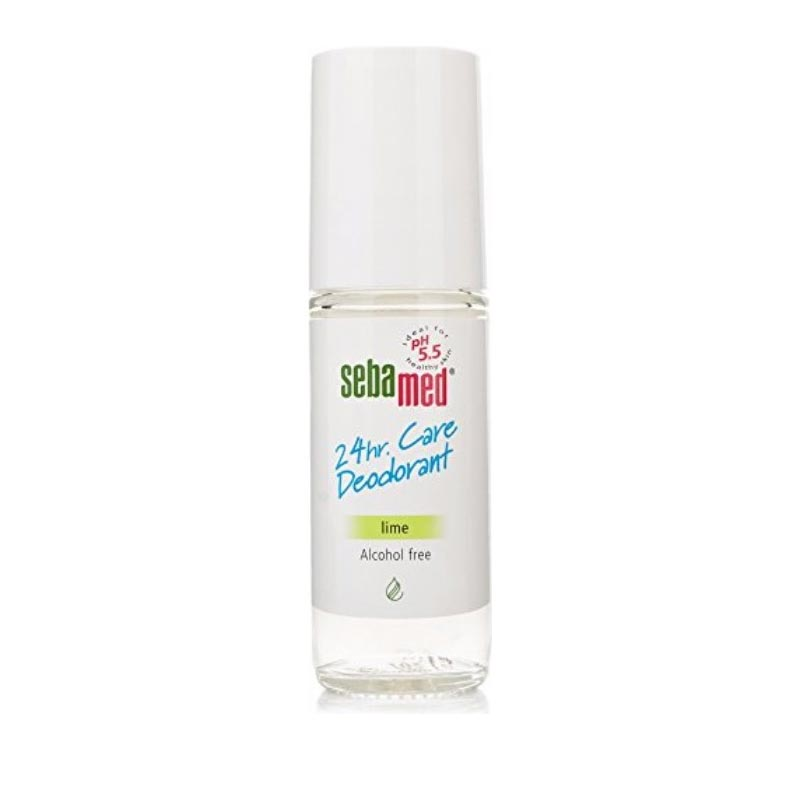 Sebamed 24 Care Deodorant Lime Αποσμητικό Roll-On 50ml