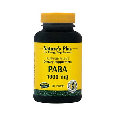 Natures Plus Paba 1000mg 60 ταμπλέτες