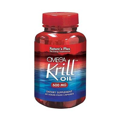 Natures Plus Omega Krill Oil 600mg 60 Liquid caps