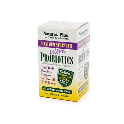 Natures Plus Ultra Probiotics 30 vcaps