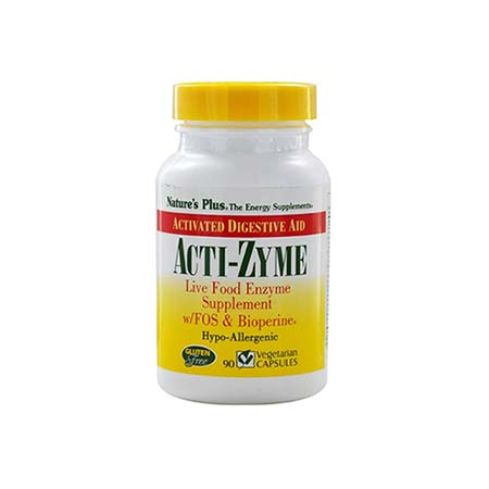 Natures Plus Acti-Zyme 90vcaps