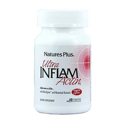 Natures Plus Ultra Inflam Actin 60 caps