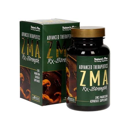 Natures Plus ZMA RX-Strength 90caps