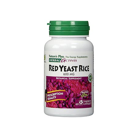 Natures Plus Red Yeast Rice 600mg 60vcaps