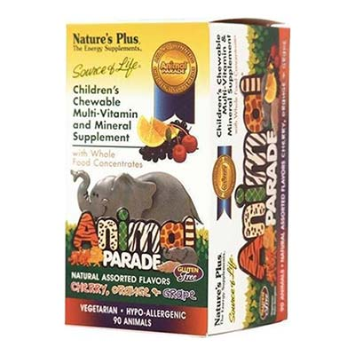 Natures Plus Animal Parade Assorted Flavors 90tabs