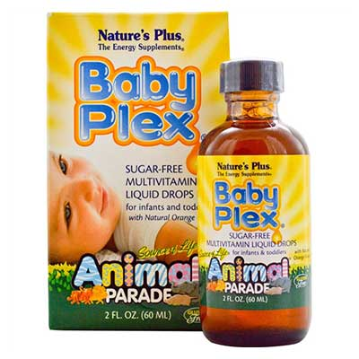 Natures Plus Baby Plex Animal Parade 60ml