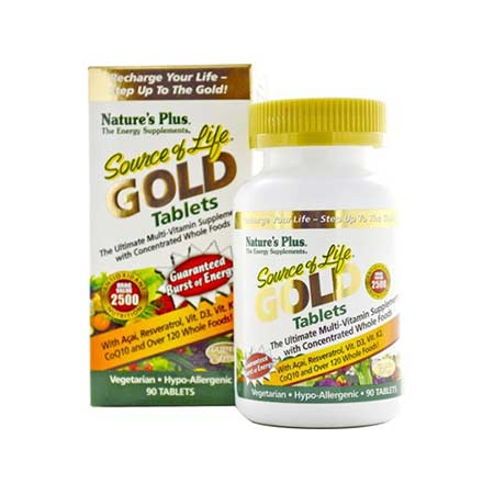 Natures Plus Source Of Life Gold 90tabs
