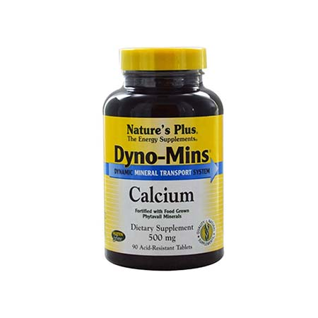 Natures Plus Dyno-Mins Calcium 500mg 90tabs