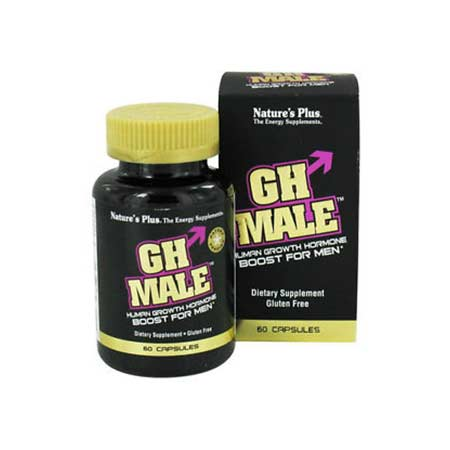 Natures Plus GH Male Human Growth Hormone Boost for Men 60caps