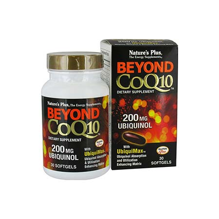 Natures Plus Beyond CoQ10 200mg Ubiquinol 30tabs