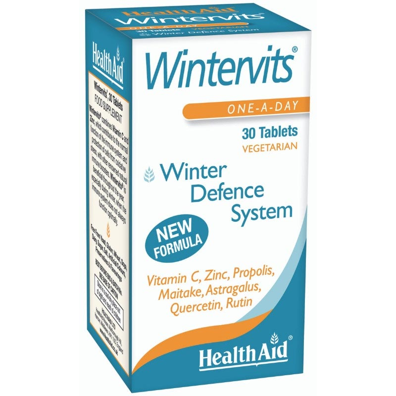 Health Aid Wintervits, για Ενίσχυση Ανοσοποιητικού - 30Tabs