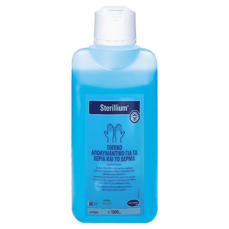 BODE Sterillium Τοπικό Απολυμαντικό για τα Χέρια και το Δέρμα 1000ml.