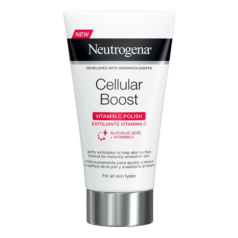 Neutrogena Cellular Boost Vitamin C Polish Κρέμα Απολέπισης Προσώπου με Βιταμίνη C 75ml
