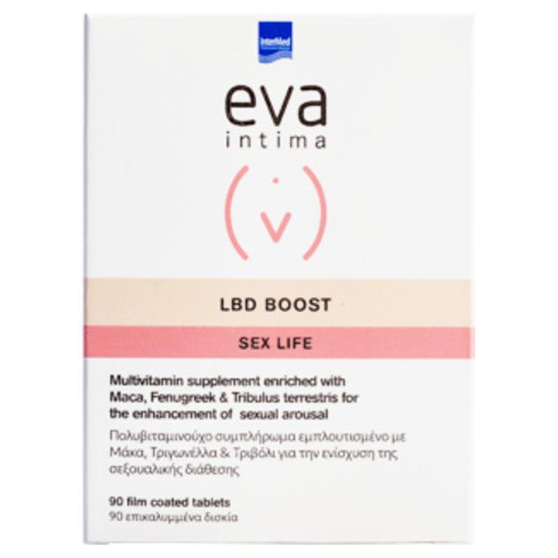 Intermed Eva Intima LBD Boost Sex Life Βελτίωση Της Γυναικείας Σεξουαλικής Επιθυμίας 90 ταμπλέτες