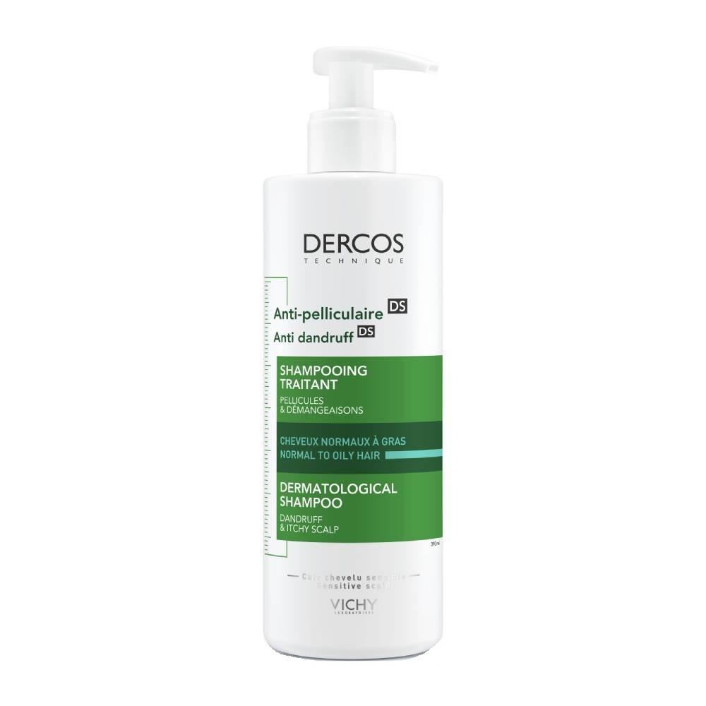 Vichy Dercos Αντιπυτιριδικό σαμπουάν DS για ΚΑΝΟΝΙΚΑ/ΛΙΠΑΡΑ μαλλιά 390 ml