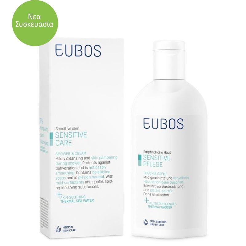 EUBOS SENSITIVE SHOWER & CREAM 200mL