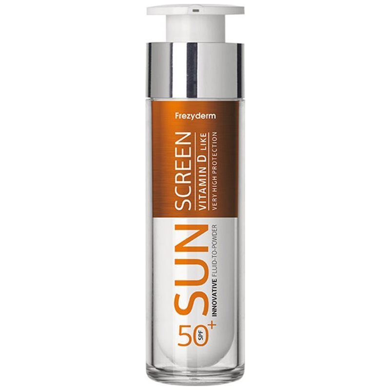 Frezyderm Sun Screen Vitamin D Like Fluid to Powder SPF50 50ml