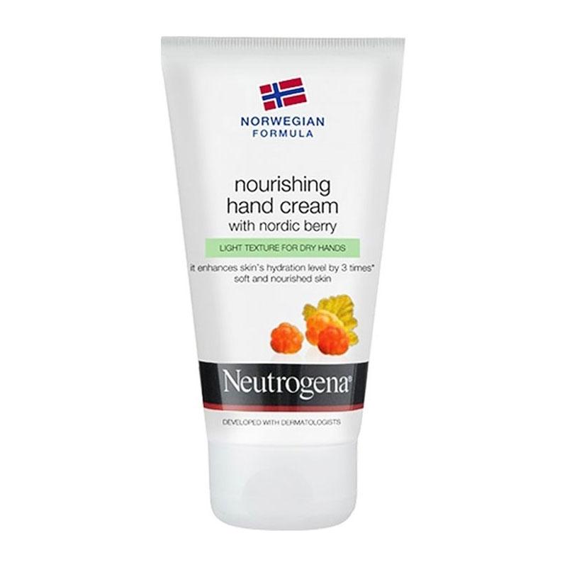 Neutrogena NOURISHING Hand Cream with Nordic Berry - Ελαφριά υφή για ξηρά χέρια, 75ml