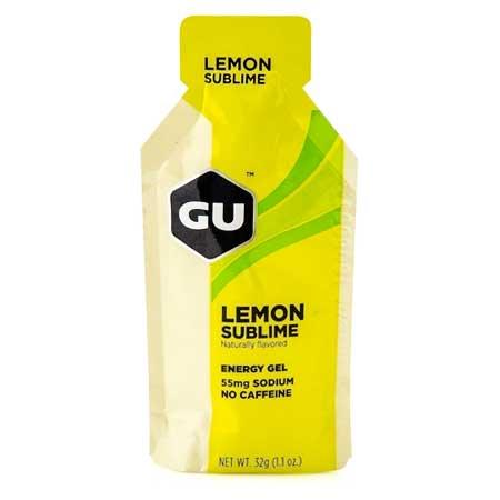 GU Ενεργειακό Gel Λεμόνι Χωρίς Καφεΐνη 32g