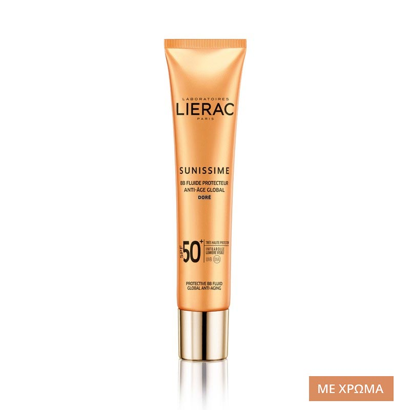 Lierac Sunissime BB Fluide Protecteur Anti-Age Global Αντηλιακή Αντιγηραντική Κρέμα SPF50+ με Χρώμα (40ml)